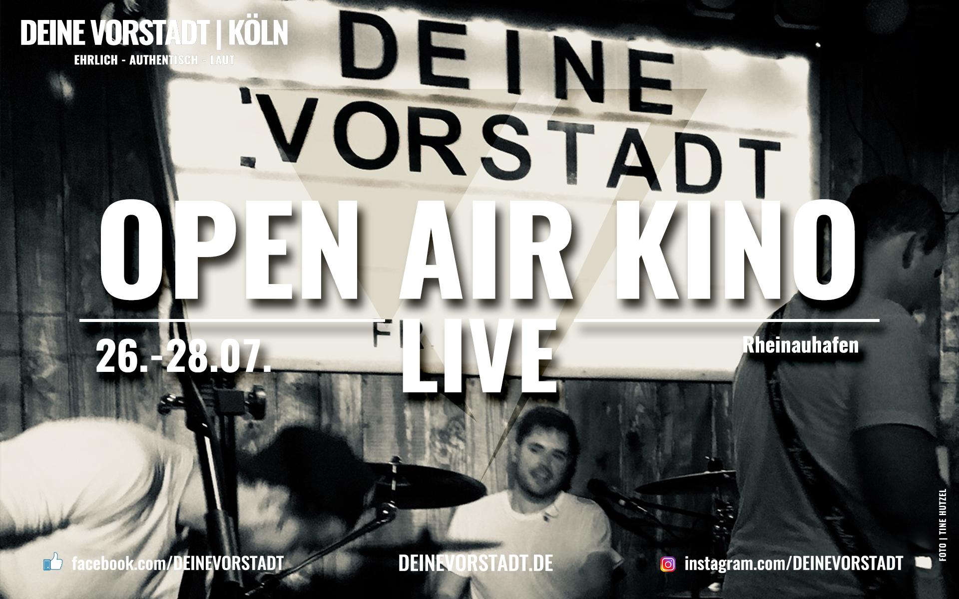 Flyer Open Air Kino 2018